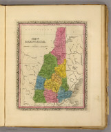 New Hampshire. (Written and engraved by Jos. Perkins. 1845)