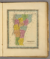 Vermont. (Written and engraved by Jos. Perkins. 1845)