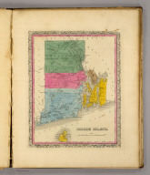 Rhode Island. (Written and engraved by Jos. Perkins. 1845)