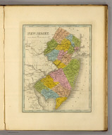 New Jersey. (Written and engraved by Jos. Perkins. 1845)