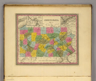 Pennsylvania. (with) Vicinity of Pittsburg. (with) Vicinity of Philadelphia. (Written and engraved by Jos. Perkins. 1845)