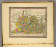 Virginia. (Written and engraved by Jos. Perkins. 1845)
