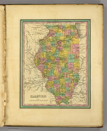 Illinois. (Written and engraved by Jos. Perkins. 1845)