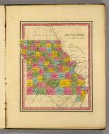 Missouri. (Written and engraved by Jos. Perkins. 1845)
