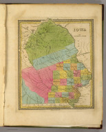 Iowa. (Written and engraved by Jos. Perkins). Published by Tanner, 1845.