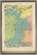 The Irish Channel. George Philip & Son, Ltd. The London Geographical Institute. (1922)