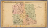 Map of Beverly Manor Magisterial District, Augusta County, Virginia. By Jed. Hotchkiss, T.E. 1884 (1885)