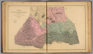 Map of the South River Magisterial District, Augusta County, Virginia. By Jed. Hotchkiss, T.E. 1884 (1885)