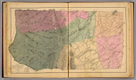 Map of North River Magisterial Dist., Augusta County, Virginia. By Jed. Hotchkiss, T.E. 1884 (1885)