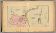 Maps of the town of Waynesboro, the village of North Waynesboro, and the village of Waynesboro Junction, South River District, Augusta Co., Va. By Jed. Hotchkiss., T.E., 1884. The map of Waynesboro is from map of G.W. Dudley, C. & M.E., revised by Sev. P. Ker, who added portions beyond corporation lines. (1885).