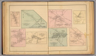 Plan of Fishersville Village, South River District, by Jed. Hotchkiss, T.E. 1884. Plan of Churchville Village, The Pastures District, by Jee (sic) Hotchkiss, T.E. Surveyed by Ser. P. Ker. (with) Plan of Spring Hill Village (Long Glade P.O.) ... (with) Plan of Centerville Village (Milnesville P.O.) ... (with) Plan of Sangersville Village ... (with) Plan of Mount Solen Village ... (with) Plan of Craigsville Village ... (with) Plan of Middlebrook Village ... (all) by Jed. Hotchkiss, T.E. (1885)