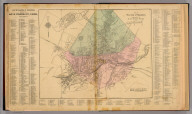 Map of the city of Staunton, Augusta Co., Va. By Jed. Hotchkiss, Top. Eng. 1884 (1885)