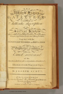 (Title Page to) The United States Gazetteer: Containing an Authentic Description of the Several States. Illustrated with Nineteen Maps. By Joseph Scott. Philadelphia: Printed By F. & R. Bailey, at Yorick's Head, No. 116, High Street. 1795. (Published according to Act of Congress.)