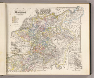 Deutschland von 1649 bis 1792. (with) Antwerpen und seine Forts. (with) Belgien. (with) Wien und dessen Belagerung vom 14ten. July bis 9ten. Septbr. 1683. K.v. Spruner's histor. Atlas: Deutschland u.a. No. X. Gotha: Justhus Perthes. Rev. 1860.