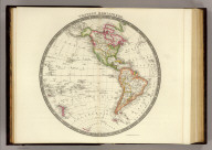 Western Hemisphere. London: Published by Henry Teesdale & Co. (1844)