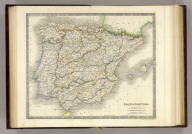 Spain & Portugal. London: Published by Henry Teesdale & Co. Drawn & Engraved by J. Dower, Pentonville, London. (1844)
