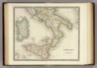 South Italy. London: Published by Henry Teesdale & Co. Drawn & Engraved by J. Dower, Pentonville, London. (1844)