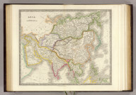 Asia. London: Published by Henry Teesdale & Co. Drawn & Engraved by J. Dower, Pentonville, London. (1844)