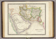 Persia and Arabia. London: Published by Henry Teesdale & Co. Drawn & Engraved by J. Dower, Pentonville, London. (1844)