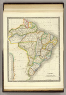 Brazil. London: Published by Henry Teesdale & Co. Drawn & Engraved by J. Dower, Pentonville, London. (1844)