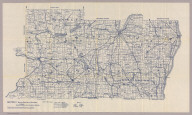 Section 2. Bicycle Road Map of Wisconsin. Published by Wisconsin Division, League of American Wheelmen. (Marquette, Green Lake, Fond du Lac, Sheboygan, Columbia, Dodge, Washington, Ozaukee, and Dane counties). Copyright 1897 by M.C. Rotier.
