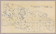 Section 11. Bicycle Road Map of Wisconsin. Published by Wisconsin Division, League of American Wheelmen. (Vilas, Oneida, Forest, Florence, and Marinette counties). Copyright 1897 by M.C. Rotier.