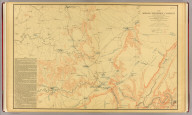 The Middle-Tennessee Campaign of June and July 1863, enlarged from a map compiled in 1865, by C.S. Mergell, under the direction of Col. W.E. Merrill, 1st U.S. V.V. Eng'rs, and published by the Chief of Engineers of the Army in 1874. Drawn by J. von Glumer. Positions of troops located in 1891 by Captain S.C. Kellogg, 5th Cavalry. Julius Bien & Co. lith. (Washington, D.C.: U.S. Government Printing Office, 1891)