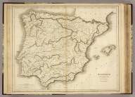 Hispania, Drawn & Engraved for Dr. Playfair's Geography. Published Novr. 4th 1808 by the Revd. Dr. Playfair, St. Andrews NB. B. Smith sculpt. Walworth (1814)