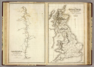 Roman Wall in Britain ... Drawn & Engraved for Dr. Playfair's Geography. Brittania Antiquae Drawn and Engraved for Dr. Playfair's Geography. Cooper, sculpt. Published as the Act directs by Dr. Playfair 1809 (1814)