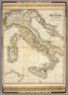 Italia Antiquae. Drawn & Engraved for Dr. Playfair's Geography. Cooper, Sculpt. (1814)