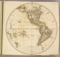 Western Hemisphere. Drawn & Engraved for Dr. Playfair's Geography. Drawn by N. Coltman, Eng. by E. Jones. (1814)
