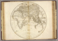 Eastern Hemisphere. Drawn & Engraved for Dr. Playfair's Geography. Engraved by B. Smith, Walworth, near London. (1814)