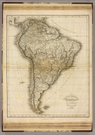 South America. Drawn & Engraved for Dr. Playfair's Geography. Neele, sc., Strand. London. Published May 12th 1814, by T. Underwood, Fleet Street.