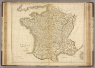 France in Provinces. Drawn and Engraved for Dr. Playfair's Geography. Drawn by N. Coltman, Vauxhall. E. Jones, scuplt., West Square, (London, 1814)