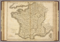 France in Departments. Drawn and Engraved for Dr. Playfair's Geography. E. Jones, scuplt., West Square, (London, 1814)