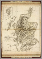 Scotland. Drawn and Engraved for Dr. Playfair's Geography. Drawn by W.W. Macpherson. Cooper, delt. et sculpt. (1814)