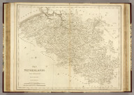 The Netherlands. Drawn and Engraved for Dr. Playfair's Geography. (London. 1814)