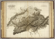 Switzerland. Drawn and Engraved for Dr. Playfair's Geography. (1814)