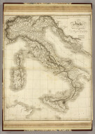 Italy. Drawn and Engraved for Dr. Playfair's Geography. Drawn by W.W. Macpherson. (1814)