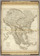 Hungary and Turkey in Europe. Drawn & Engraved for Dr. Playfair's Geography. (1814)