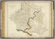 Poland. Drawn & Engraved for Dr. Playfair's Geography. Engraved by B. Smith, Walworth, near London. (1814)
