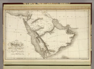 Arabia. Drawn and Engraved for Dr. Playfair's Geography. Engraved by H. Cooper, 28 Chancery Lane (London. 1814)