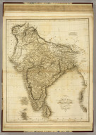 Indostan. Drawn & Engraved for Dr. Playfair's Geography. London Published May 12th, 1814 by T. Underwood, Fleet Street. S.J.Neele sc. 35(2) Strand.