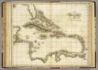 West Indies. Drawn and Engraved for Dr. Playfair's Geography. (London. 1814)