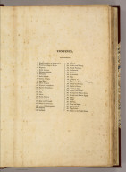 (Contents to) A New General Atlas, Ancient and Modern, Accurately Constructed, by Principal Playfair, St. Andrews, and Elegantly Engraved by the most eminent Artists in London. London: Printed for The Author, and Sold By T. Underwood, Fleet Street, London, and P. Hill, Edinburgh. 1814.