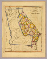 The state of Georgia. Gridley sc. (Philadelphia: Published by Robert Desilver, 1822)