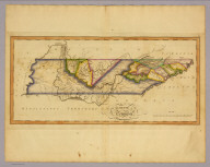 The state of Tennessee. (Philadelphia: Published by Robert Desilver, 1822)