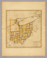 The state of Ohio with part of Upper Canada, &c. (Philadelphia: Published by Robert Desilver, 1822)