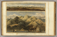 A comparative view of the heights of the principal mountains of Scotland. (with) View of the Grampian Mountains, being a specimen of the formation of that range. Drawn by D. McKenzie S.A. Engd. by W.H. Lizars. Published by John Thomson, Edinburgh, 1831. (1832)