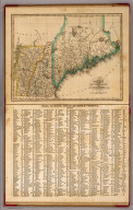 Maine, New Hampshire and Vermont. N. & S.S. Jocelyn Sc. (New-Haven: N. & S.S. Jocelyn. 1823)